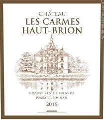Chateau Les Carmes Haut Brion 2019 Pessac Leognan