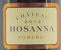 Chateau Hosanna 2019 Pomerol