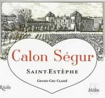 Chateau Calon Segur 2007 St Estephe