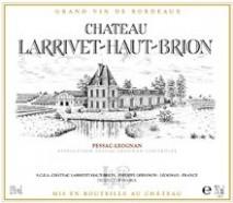 Chateau Larrivet Haut Brion Blanc 2009 Pessac Leognan