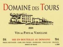 Emmanuel Reynaud, Domaine des Tours, Vin de Pays Clairette Blanc 2015 IGP Vaucluse