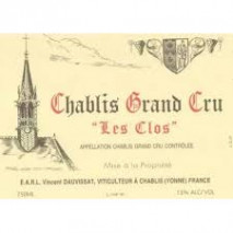 Domaine Rene et Vincent Dauvissat, Chablis Grand Cru Les Clos 2016 Chablis