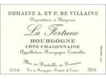 Domaine A et P Villaine Bourgogne Cote Chalonnaise La Fortune 2018 Bourgogne