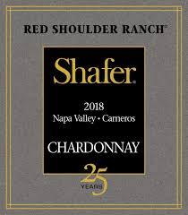 Shafer Vineyards Red Shoulder Ranch Chardonnay 2018 Napa Valley