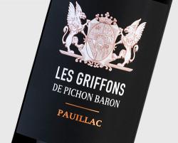 Les Griffons de Pichon Baron 2018 Pauillac