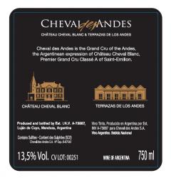 Cheval des Andes 2017 Mendoza