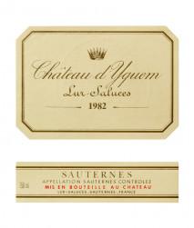 Chateau  d'Yquem 1976 Sauternes