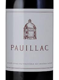 Le Pauillac de Chateau Latour 2014 Pauillac