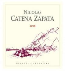 NICOLAS CATENA ZAPATA 2016 Mendoza