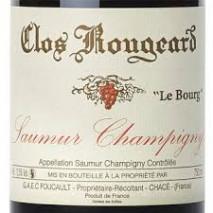 Clos Rougeard, Saumur-Champigny Le Bourg 2014 Saumur-Champigny