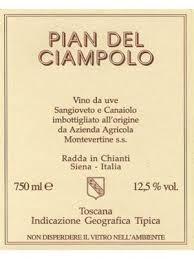 Montevertine Pian del Ciampolo 2018 Tuscany