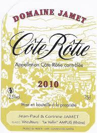 Domaine Jamet, Cote Rotie 2017 Cote Rotie
