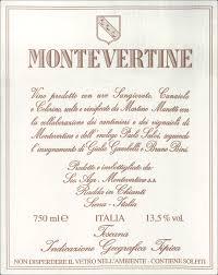 Montevertine Rosso 2017 Tuscany