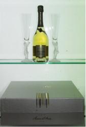 Deutz Brut Millesime Amour de Deutz (1 bt+ 2 glasses) 2009 Champagne