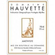 Domaine Hauvette, Amethyste 2017 Provence