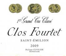 Chateau Clos Fourtet 2009 St Emilion