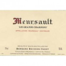 Domaine Pierre Boisson, Meursault Les Grands Charrons 2018 Cote de Beaune