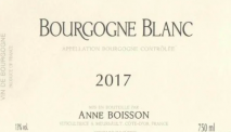 Domaine Anne Boisson, Bourgogne Blanc 2018 Cote de Beaune