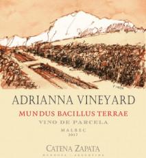 "Nicolas Catena Zapata- Adrianna Vineyard ""Mundus"" 2016 Mendoza"