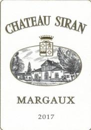 Chateau Siran 2017 Margaux