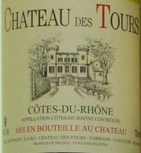 Emmanuel Reynaud, Chateau des Tours Cotes du Rhone Blanc 2014 Cotes du Rhone