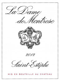 La Dame de Montrose 2014 St Estephe