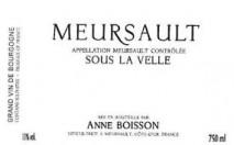 Domaine Anne Boisson, Meursault Sous la Velle 2018 Cote de Beaune