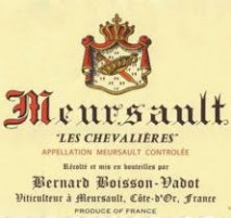 Domaine Bernard Boisson-Vadot , Anne Boisson Meursault Les Chevalieres 2017 Cote de Beaune