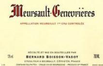 Domaine Bernard Boisson-Vadot, Meursault Genevrieres 2017 Cote de Beaune