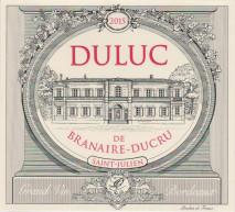 Duluc de Branaire Ducru 2014 St Julien