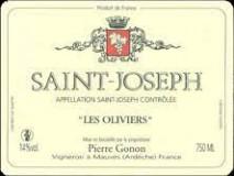 Domaine Pierre Gonon, Saint Joseph Les Oliviers 2018 Saint Joseph