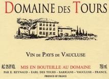E Reynaud Les Tours Blanc, IGP Vaucluse 2010 Chateauneuf du Pape