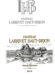 Chateau Larrivet Haut Brion Blanc 2020 Pessac Leognan