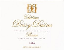 Chateau  Doisy Daene 2020 Barsac