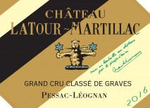 Chateau Latour Martillac Blanc 2020 Pessac Leognan