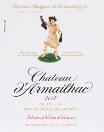 Chateau d'Armailhac 2020 Pauillac