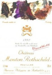 Chateau Mouton Rothschild 1992 Pauillac