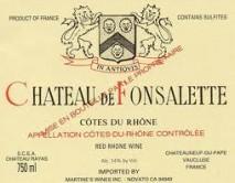 Rayas, Chateau de Fonsalette 2005 Cotes du Rhone