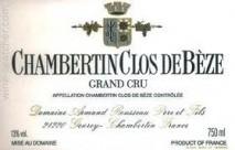 Domaine Armand Rousseau Pere et Fils, Chambertin Clos-de-Beze Grand Cru 2009 Cote de Nuits