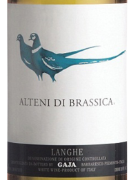 Gaja, Alteni di Brassica 2012 Piedmonte
