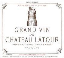"""Chateau Latour- """"2019 Ex Chateau Release"""" 2008 Pauillac"""