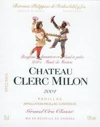 Chateau  Clerc Milon 1989 Pauillac