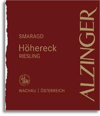 Leo Alzinger Ried Hohereck Riesling Smaragd 2012 Wachau