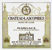 Chateau Lascombes 1998 Margaux