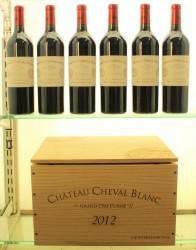 Chateau Cheval Blanc 2012 St Emilion