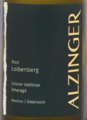 Leo Alzinger Loibenberg Gruner Veltliner Smaragd 2012 Wachau