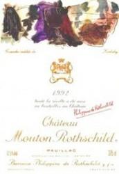 Chateau Mouton Rothschild 1992 Pauillac