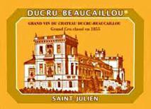 Chateau Ducru Beaucaillou 2012 St Julien