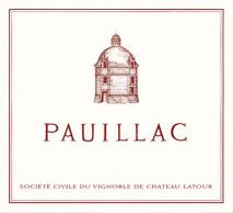 Le Pauillac de Chateau Latour 2012 Pauillac