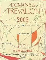 Domaine de Trevallon Blanc 2014 IGP Alpilles